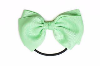 Medium Bow Elastic - Mint