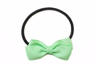 Small Bow Elastic - Mint