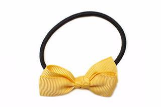 Small Bow Elastic - Yellow Gold