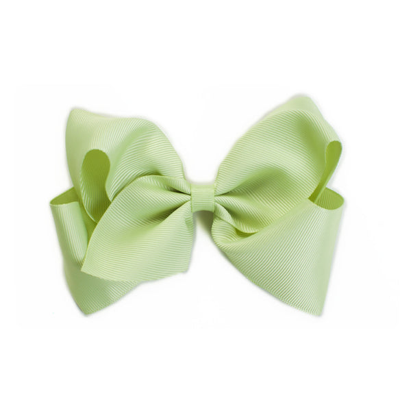 Extra Large Celery Green Hair Bow