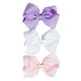 Extra Large Hair Bows - Pastel-Set of 3