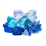 Bow Headband Pastel Blue