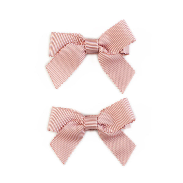 Lauren Bow Blush Pair