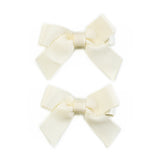 Lauren Bow Ivory Pair