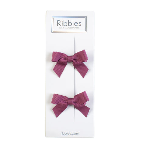 Lauren Bow Rose Pair