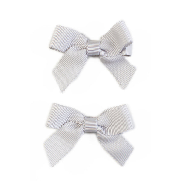 Lauren Bow Grey Pair
