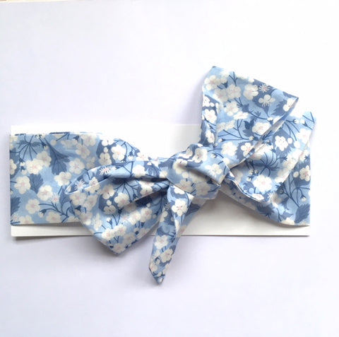 Liberty of London Headwrap - Mitsi Blue