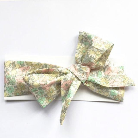 Liberty of London Headwrap - Poppy & Daisy Pastel