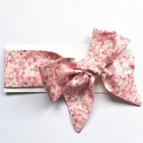 Liberty of London Headwrap - Mitsi Pink