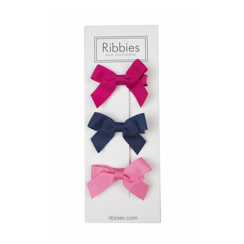 Lauren Bow Set of 3 - Bright