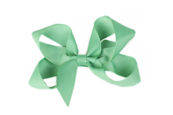 Large Mint Hair Bow