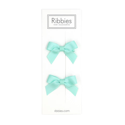 Lauren Bow Aqua Pair