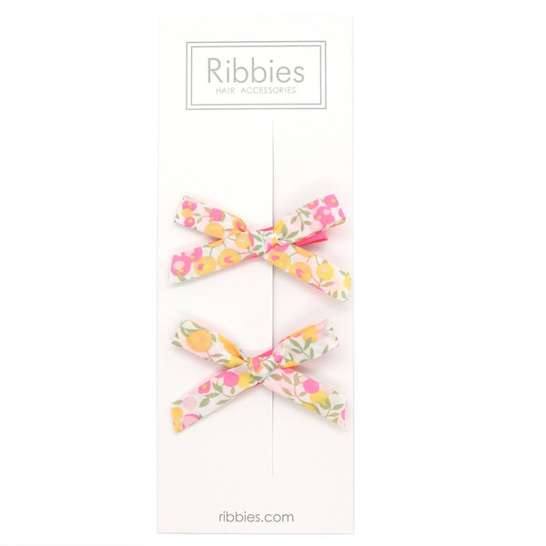 Liberty of London Schoolgirl Bows - Wiltshire Lemon Curd