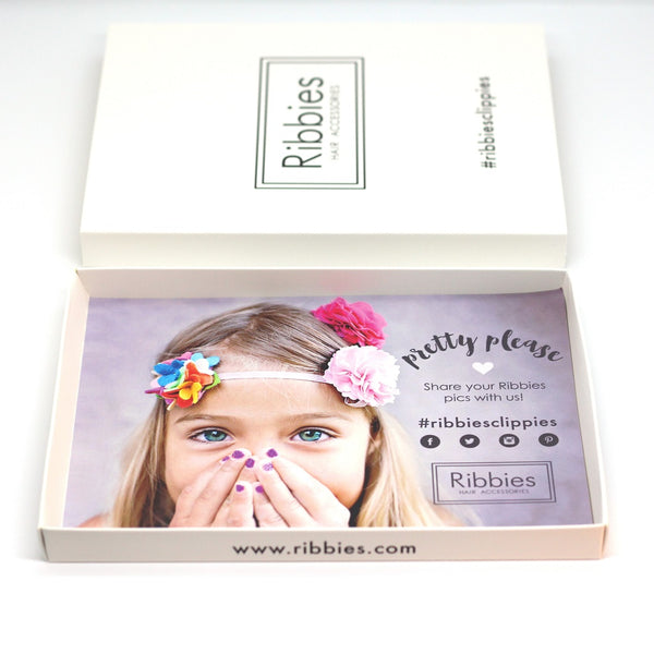 Gift Box - Can contain 2 Hair Clips Sets