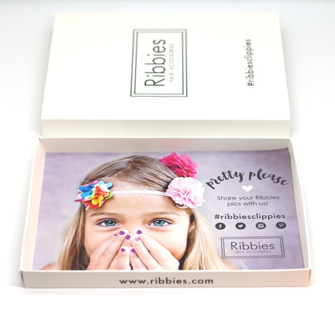 Christmas Gift Box - Can contain 2 Hair Clips Sets