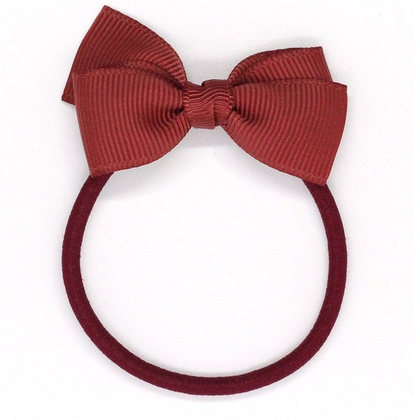Small Bow Elastic - Rust