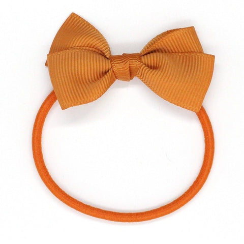 Small Bow Elastic - Ginger