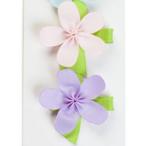 Allie Flower Set of 2 Pastel