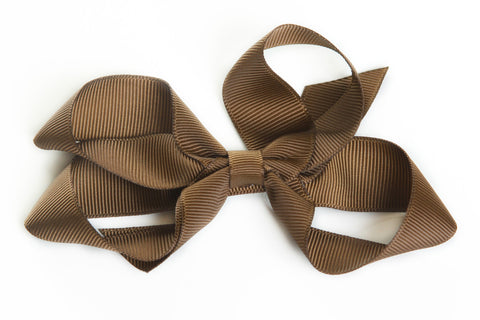 Large Brown Hair Bow