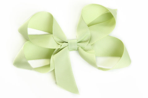 Large Celery Hair Bow