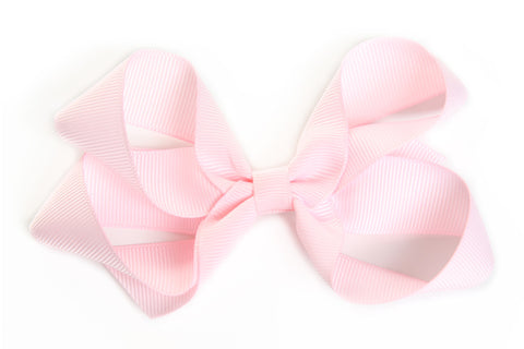 Large Light Pink Hair Bow