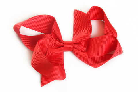 Large Red Hair Bow