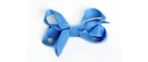 Small Bluebird Hair Bow