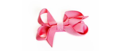 Small Pink Hair Bow