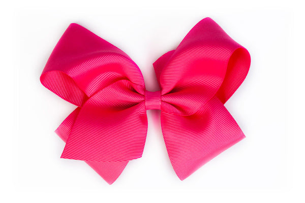 Extra Large Hot Pink Hair Bow