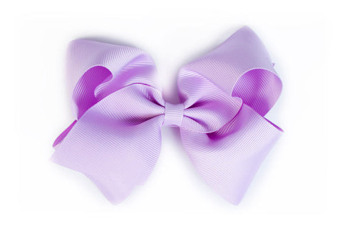 Extra Large Lavender Hair Bow