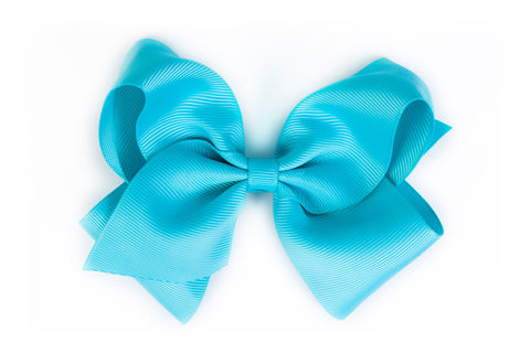 Extra Large Turquoise Hair Bow