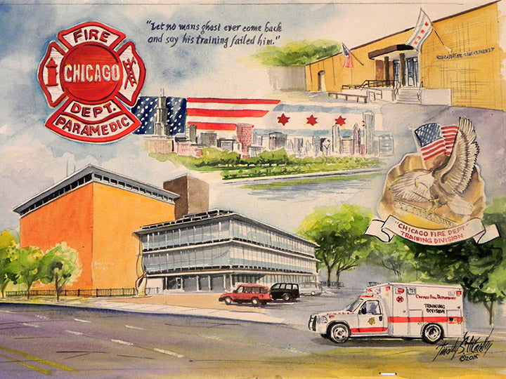 Salute to Chicago Fire Department EMS