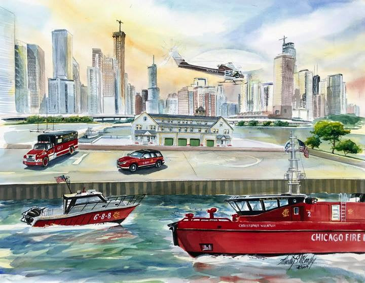 Chicago Fire Department Dive Team