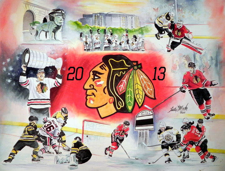 Chicago Blackhawks 2013 Stanley Cup Champs