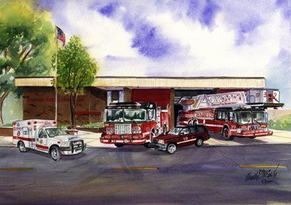 Engine 123 Towerladder 39