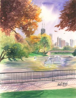 September in Lincoln Park