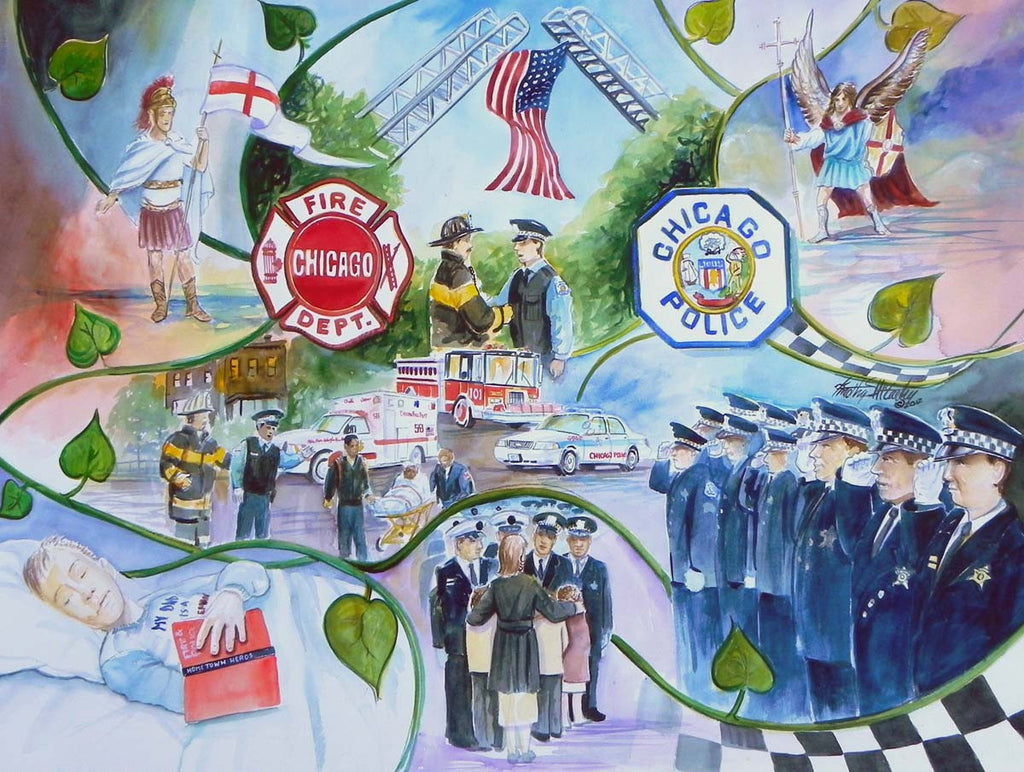 PolIce - Fire Memorial Mosaic Study