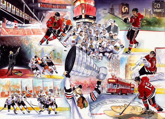 online retailer 6263e 44313 Chicago Blackhawks-Stanley Cup Champs
