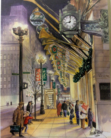 Marshall Fields Christmas Note Cards