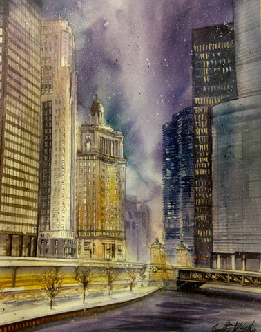 Chicago Winter Notecards