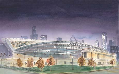 Soldier Field Skyline