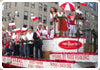 NYC Polish Parade Float
