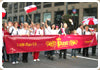 Piast Staff in NYC Polish Parade