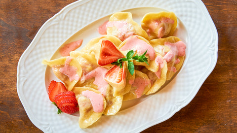 Strawberry Pierogi