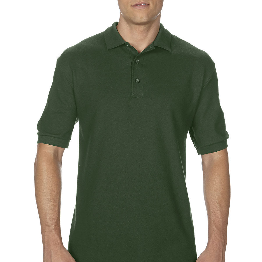 Product image of Forest Green Gildan 82800 - Adult Double Piqué Sport Shirt