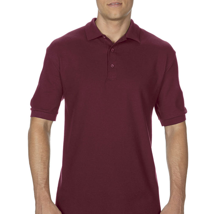 Product image of Maroon Gildan 82800 - Adult Double Piqué Sport Shirt