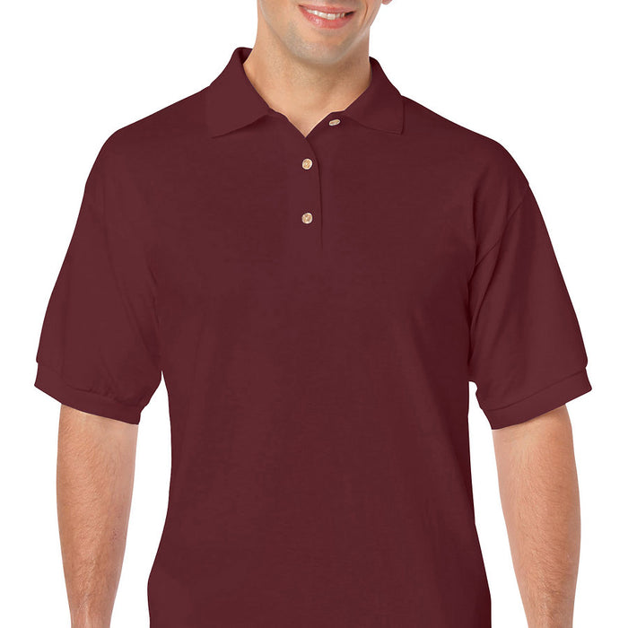 Product image of Maroon Gildan 8800 - Adult DryBlend® Jersey Sport Shirt