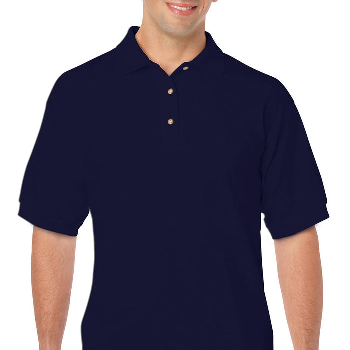 Product image of Navy Gildan 8800 - Adult DryBlend® Jersey Sport Shirt