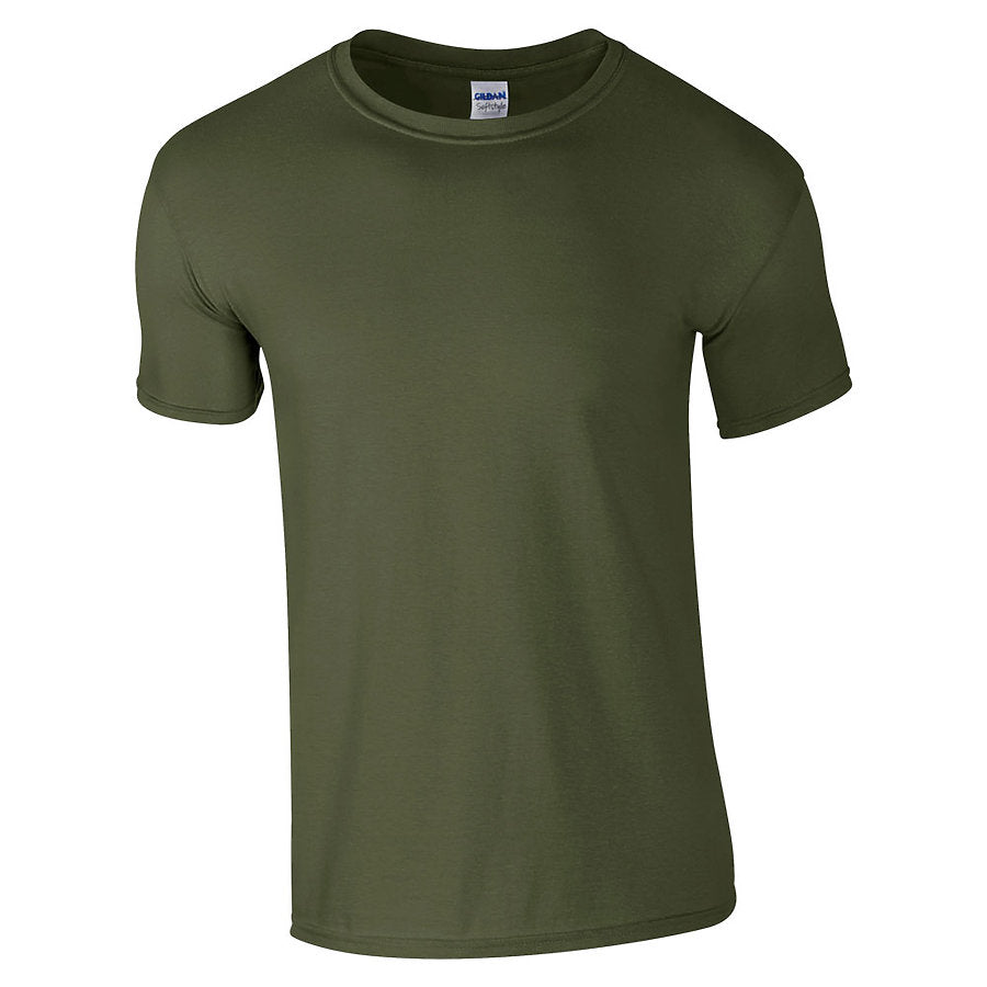 Product image of Military Green Gildan 64000 - Adult Softstyle