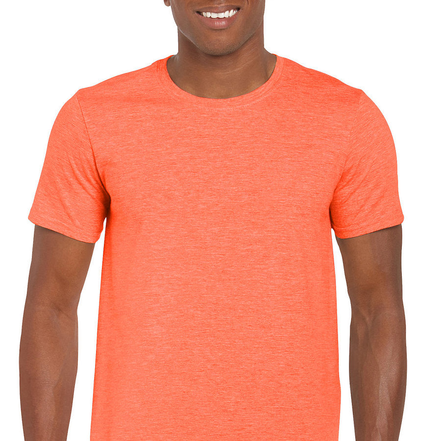 Product image of Heather Orange Gildan 64000 - Adult Softstyle